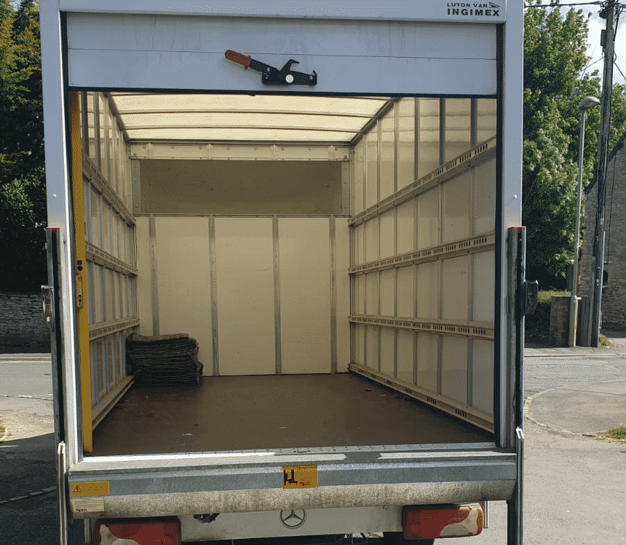 Luton van space