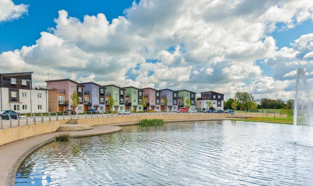 Milton Keynes urban housing